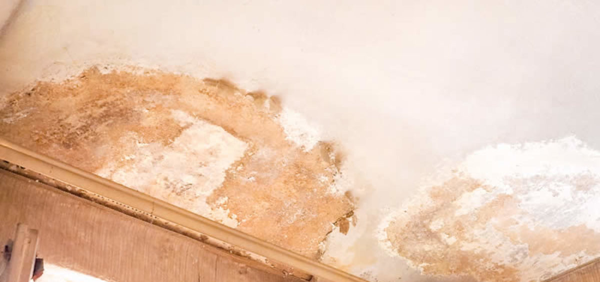 Discolorations on the Ceilings May Be a Sign of Water Damage
