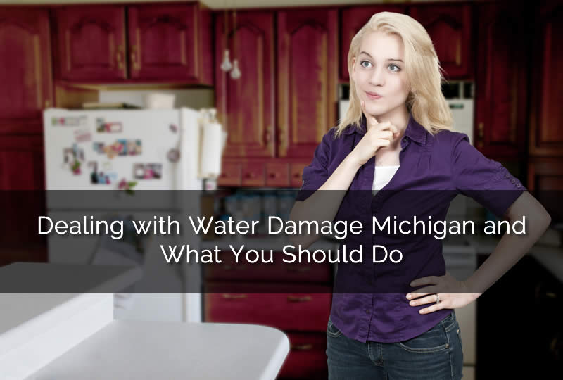 Confused About Water Damage in Your Home in Michigan