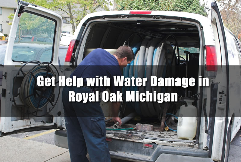 Get Help with Water Damage in Royal Oak Michigan