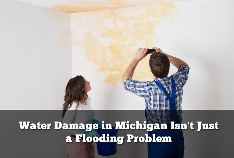 Water Damage in Michigan Isn't Just a Flooding Problem