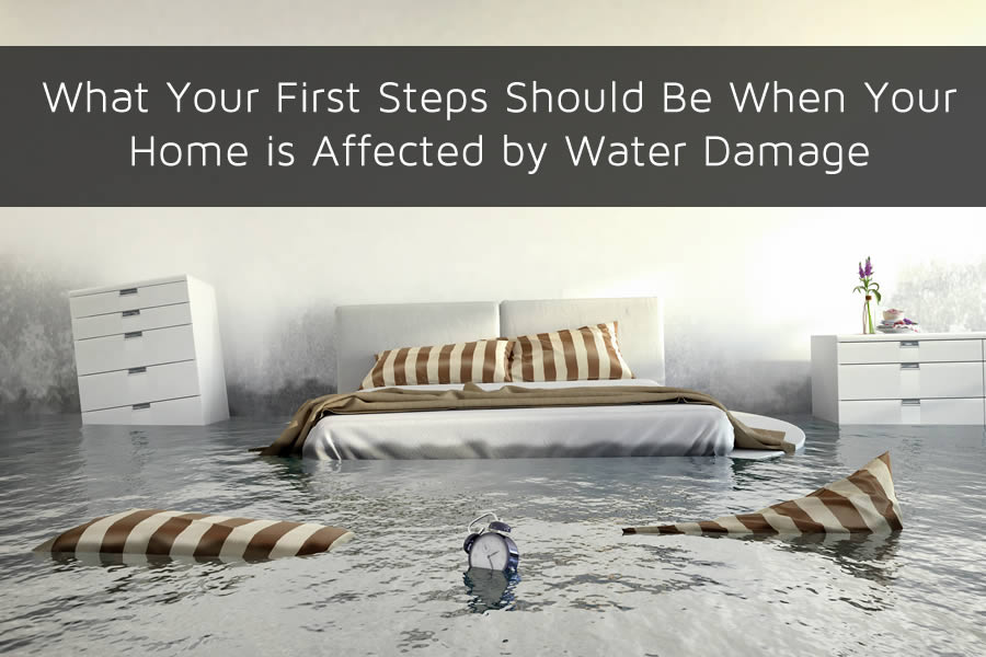 What Your First Steps Should Be When Your Home is Affected by Water Damage